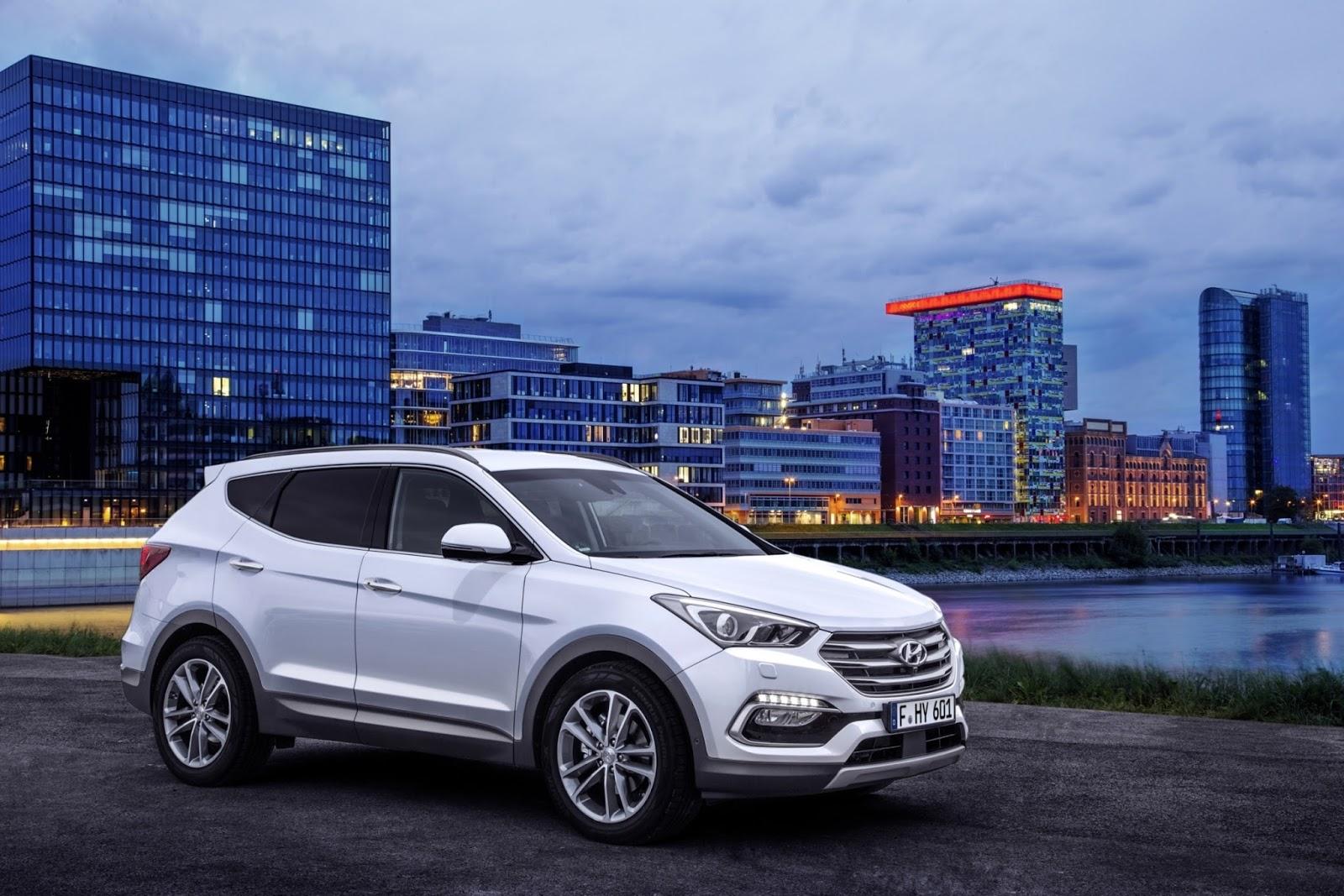 New%2BSanta%2BFe%2B%2B%25281%2529 Η Hyundai αντεπιτίθεται στη Φρανκφούρτη! Android Auto, autoshow, Frankfurt Motor Show, Hyundai, Hyundai i20, Hyundai Motor, Hyundai Santa Fe