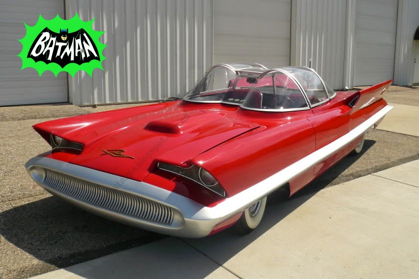 Lincoln Futura 1955 Batman Batmobile