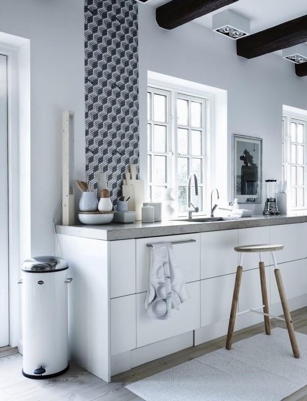 cocina papel pintado