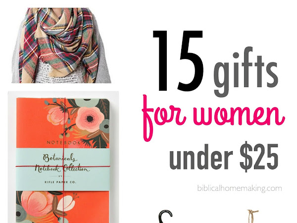 15 fun gifts for women {$25 or less!!}