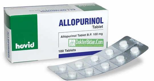 Allopurinol - Manfaat Suplemen Nutrisi obat Dosis Cara Memakai Dan Efek Sampingnya