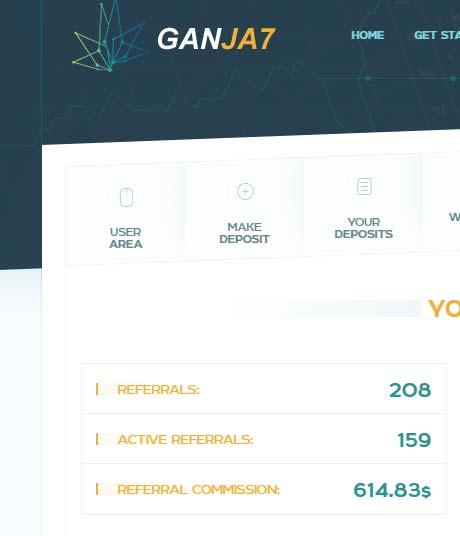 Инвестировано в Ganja7