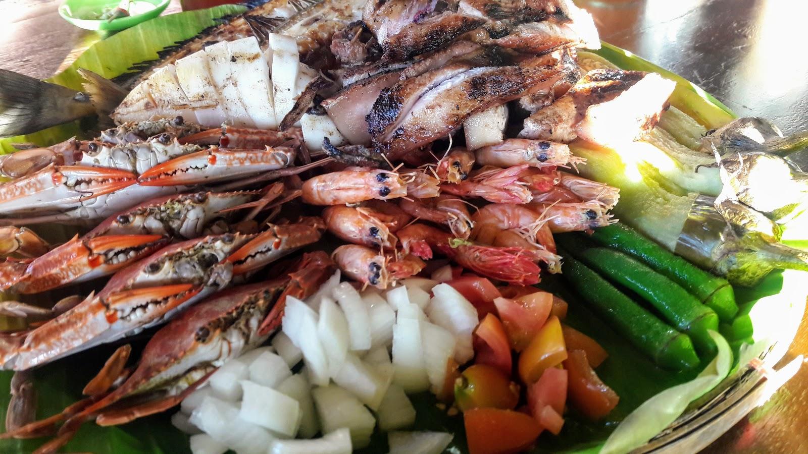 Istar tariray sungayan grille balingasay river for Fish river grill menu