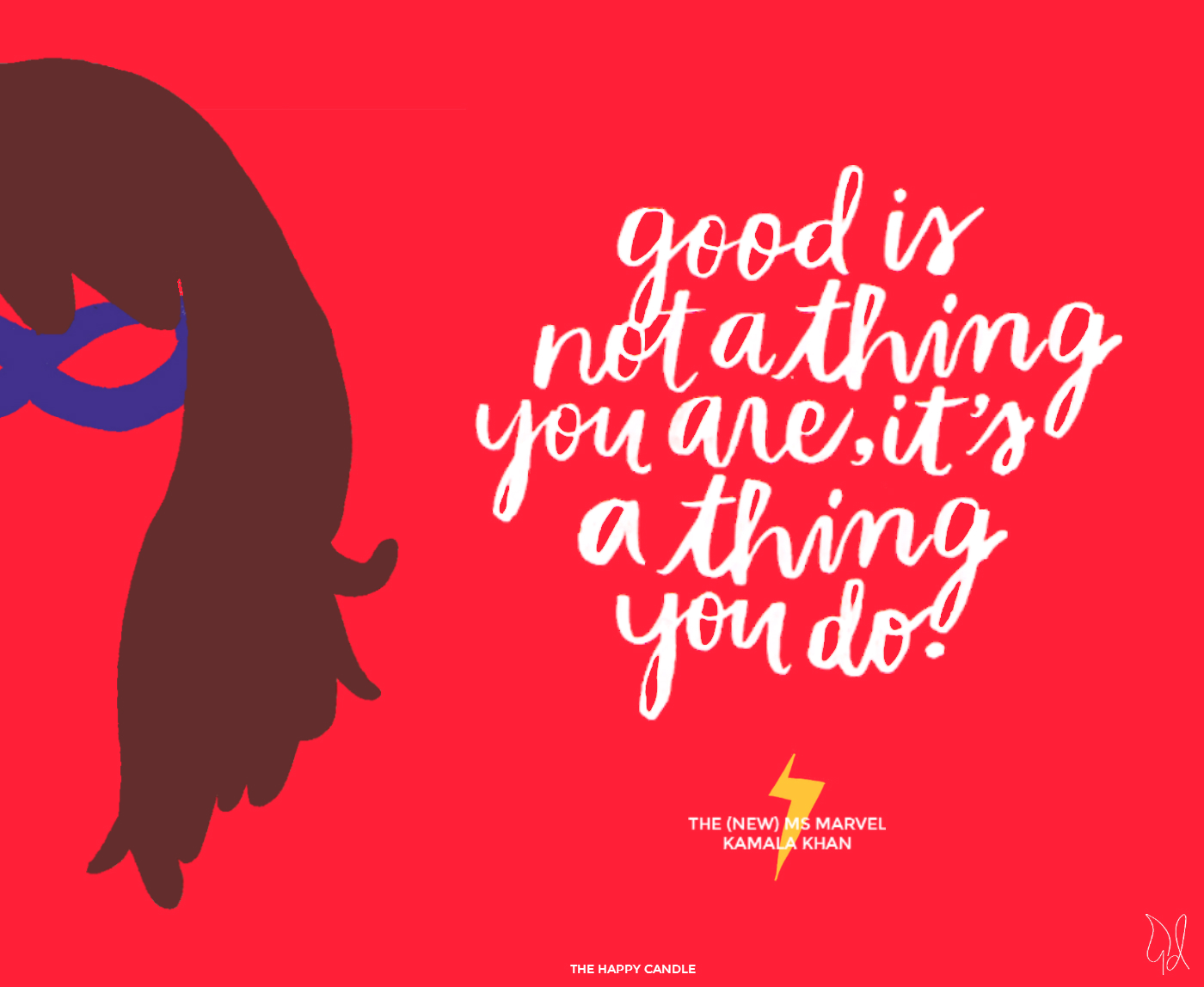 Five Reasons Why Superheroes Are Superb, Kamala Khan, Ms Marvel Quote