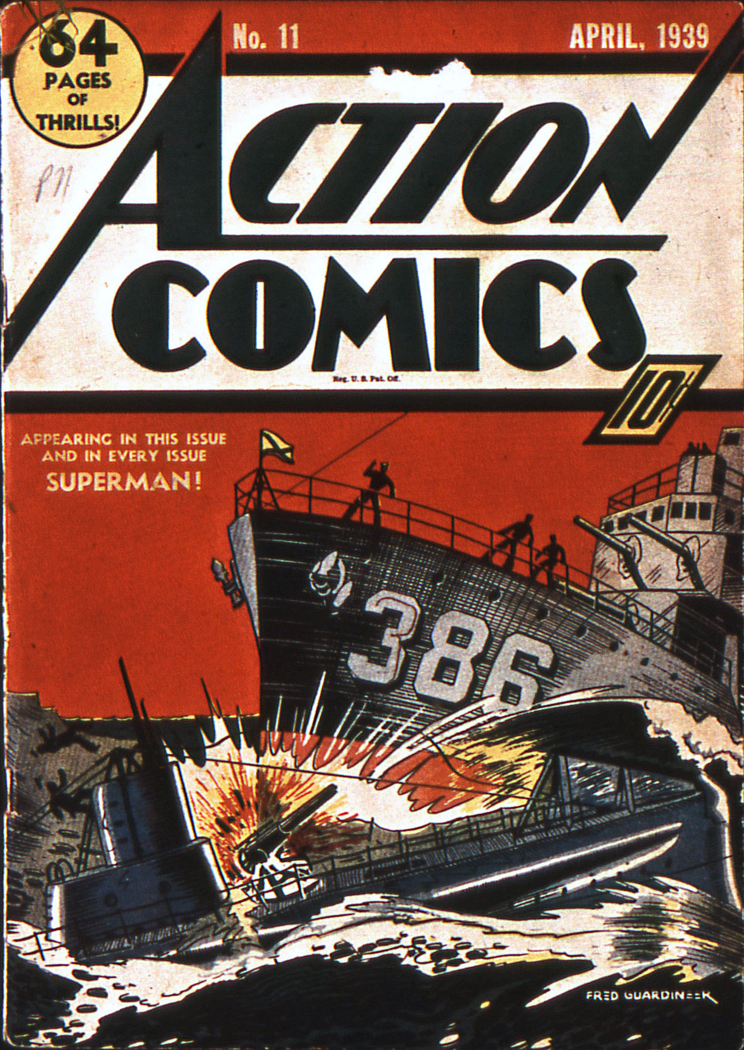 Action Comics (1938) 11 Page 0