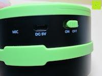 Seite: OUTAD 2-in-1 Outdoor Wireless Bluetooth Lautsprecher & LED Lampe mit eingebautem Mikrofon, einstellbarem Licht und Broadcom 3.0