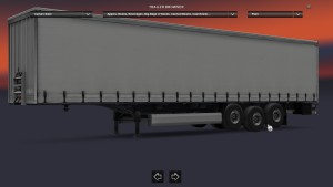 Trailers with 2 lifted axles