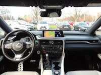 Lexus RX 450h F-Sport - wnętrze