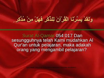 Surat Al-Qomar ayat 22