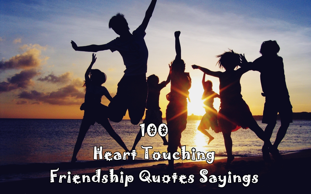 Touching Quotes About Friendship Interesting Heart Touching Friendship Quotes Sayings