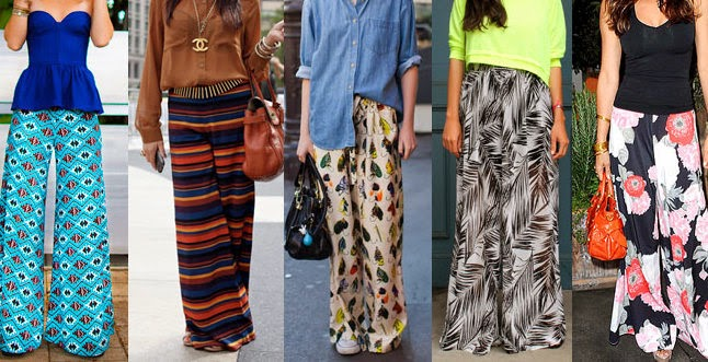 wide leg pants, cropped wide leg pants, printed wide leg pants, culottes, coolots, summer trend 2014