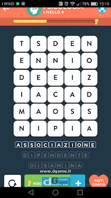 WordBrain 2 soluzioni: Categoria Psicologia (5X6) Livello 4