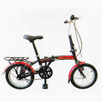 16 evergreen eg116 folding bike