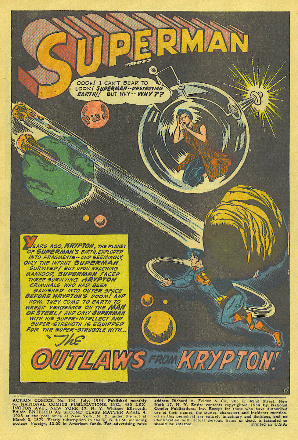 Read online Action Comics (1938) comic -  Issue #194 - 2