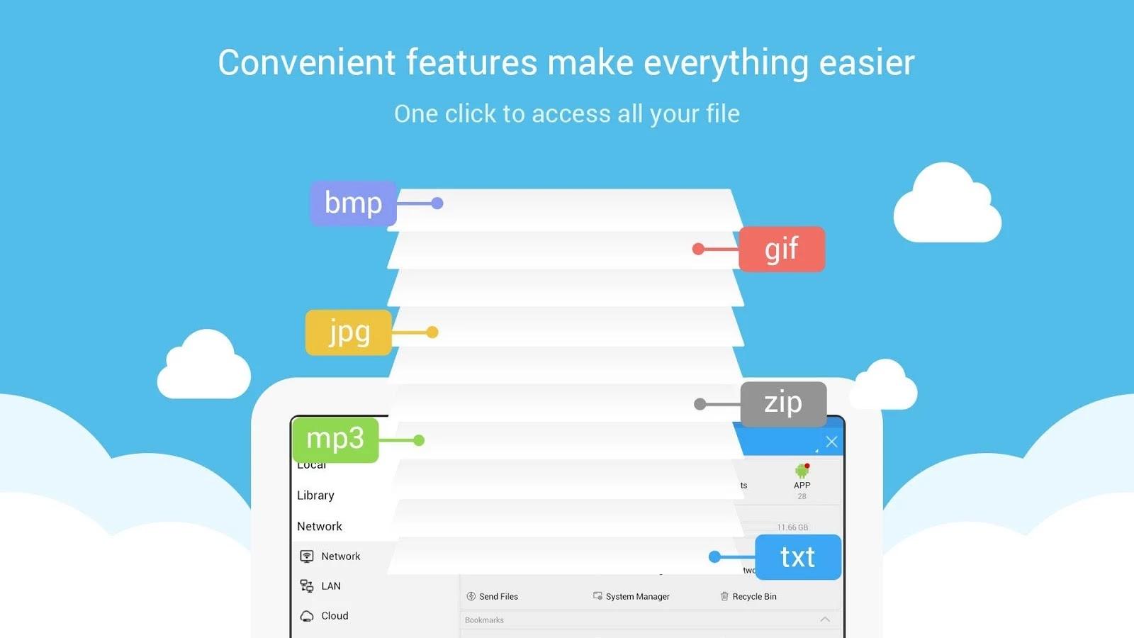 ES File Explorer File Manager v4 0 2 3 Mod Apk - AndroidApkFiles