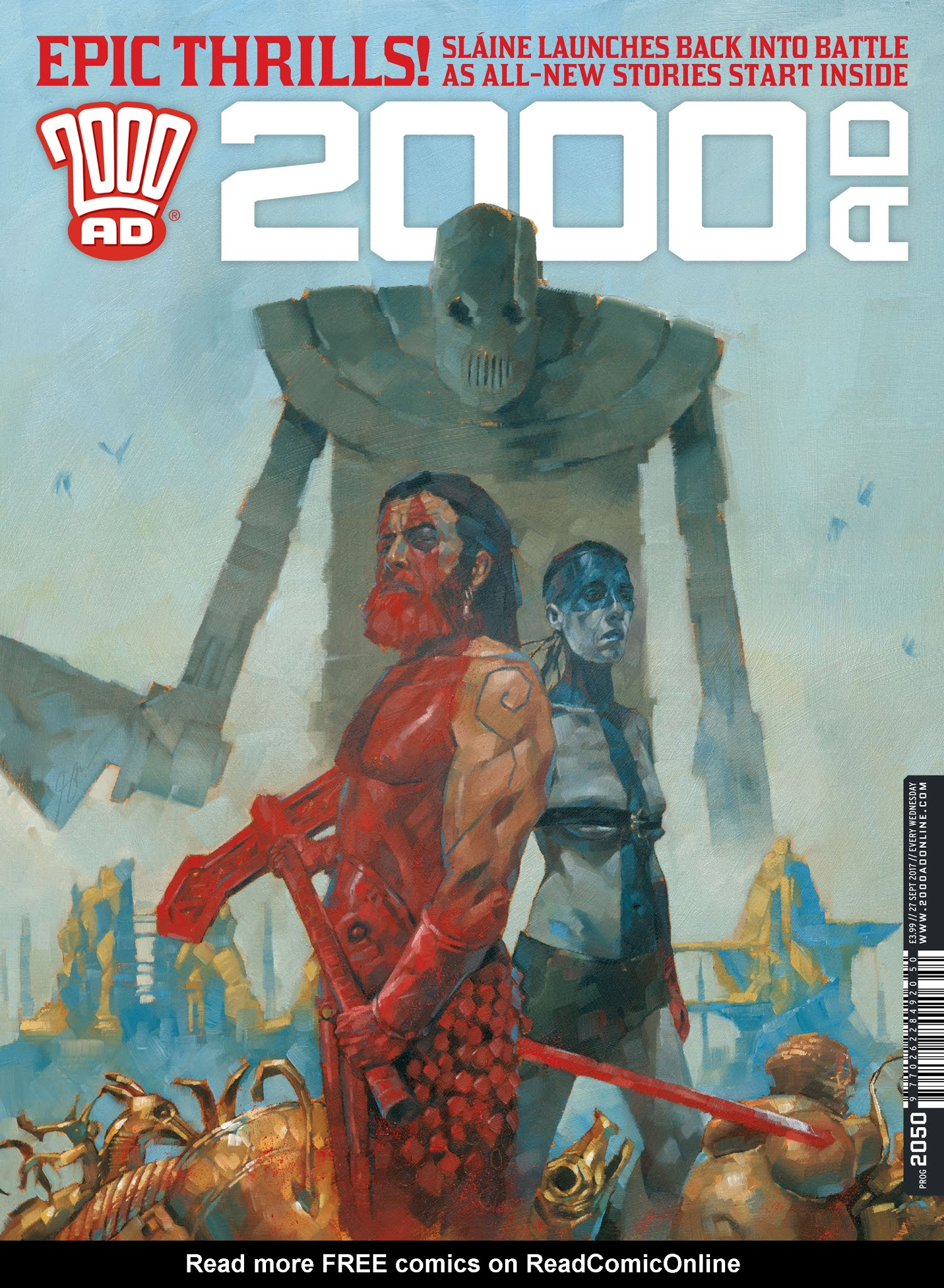 2000 AD 2050 Page 1