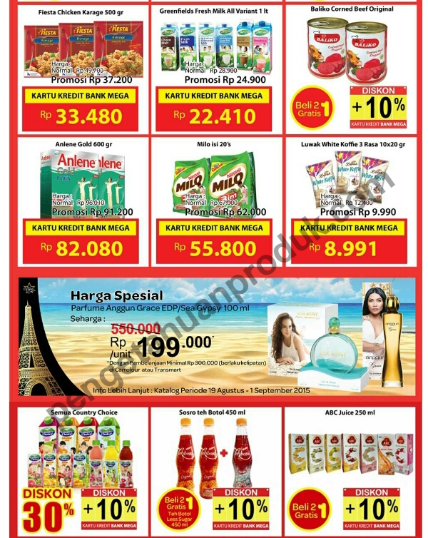 Katalog Carrefour Periode 28 - 30 Agustus 2015