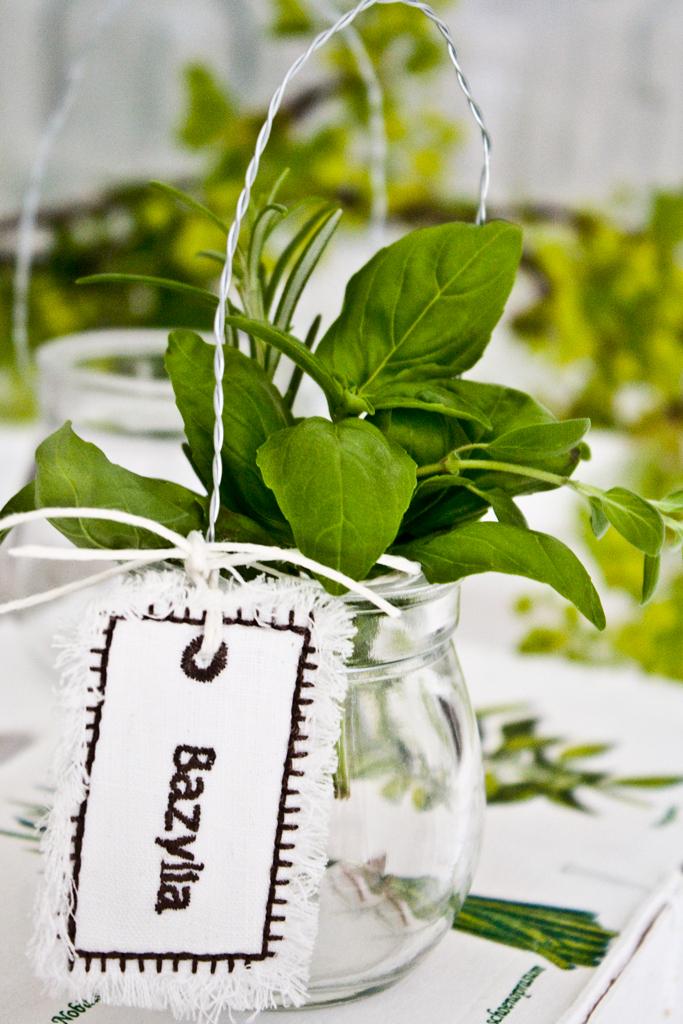 zawieszki zioła