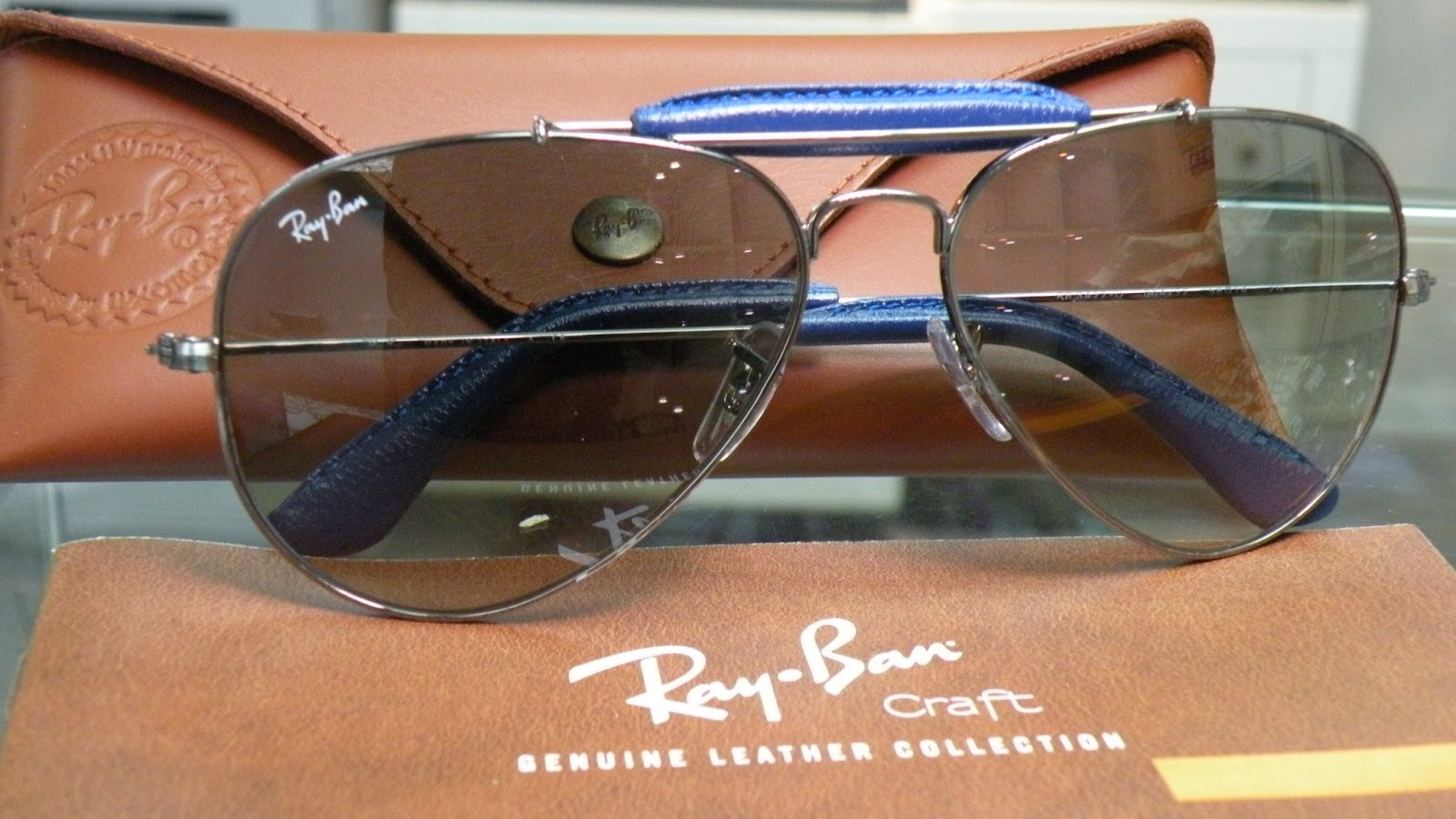 Ray Ban Craft Outdoorsman Aviator RB3422Q
