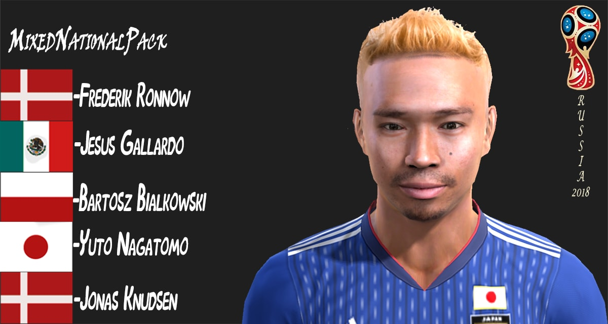 PES 2013 MixedNationalPack by Facemaker MSTF