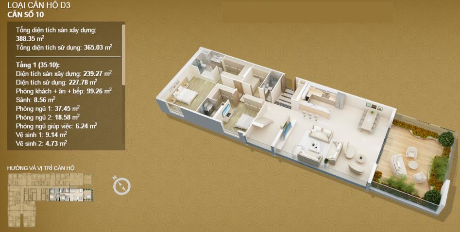 Căn hộ 10 tầng 35