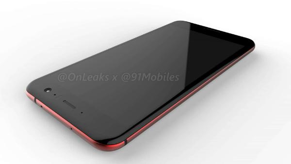تسريب المميزات التقنية لهاتف إتش تي سي الجديد HTC U 11