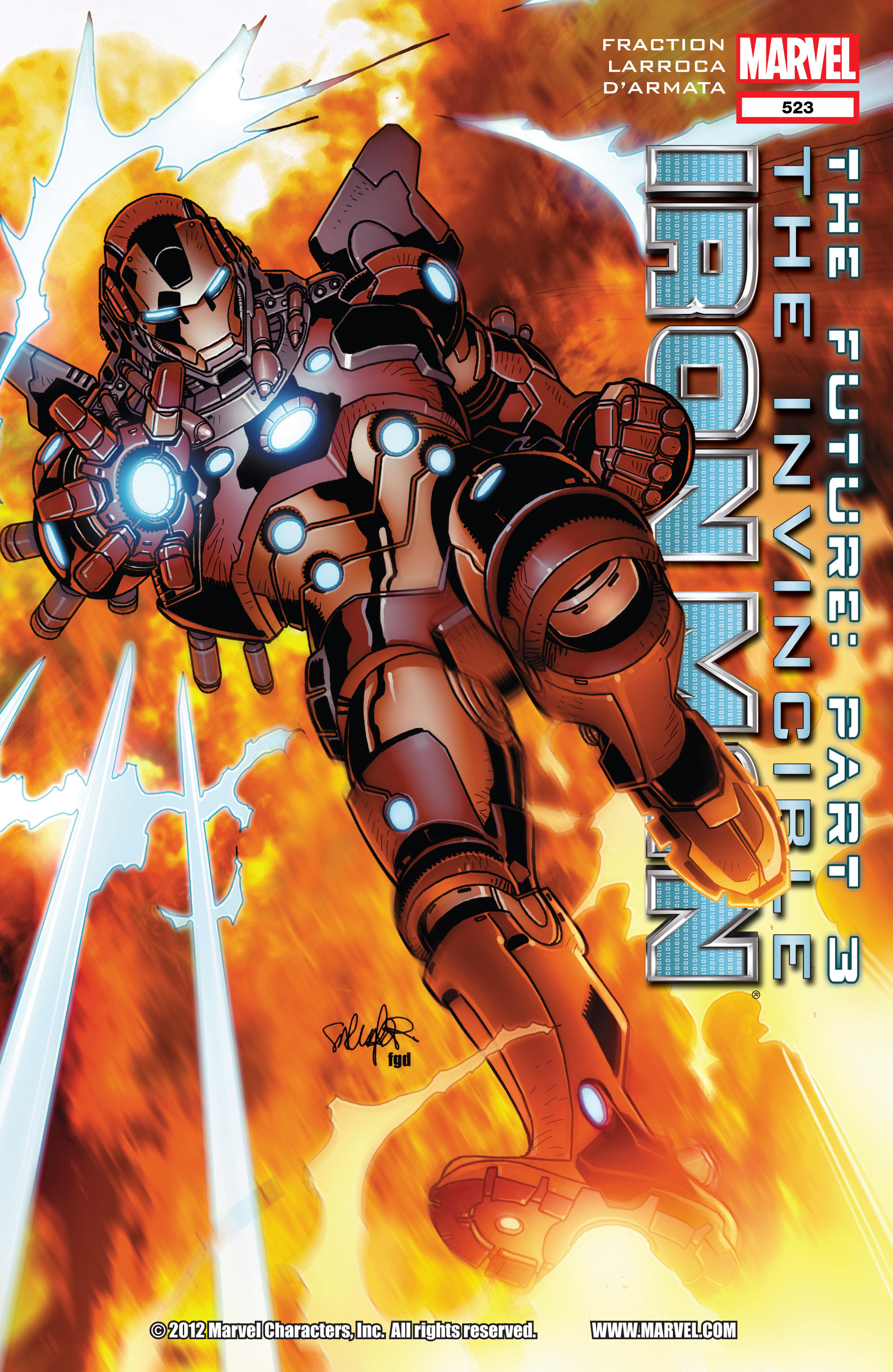 Invincible Iron Man (2008) 523 Page 1