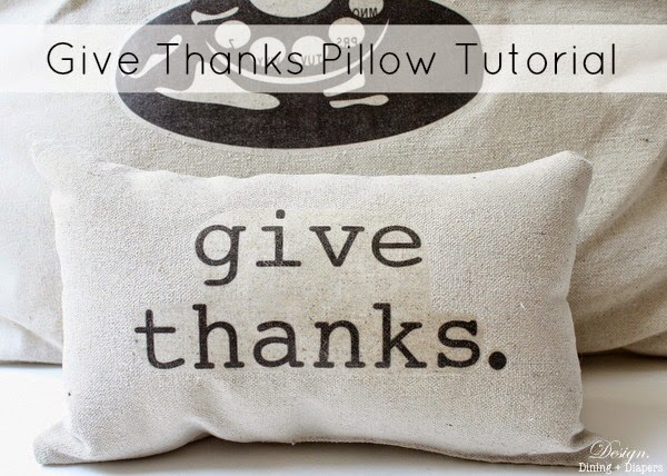 4818d474704c Give Thanks Pillow