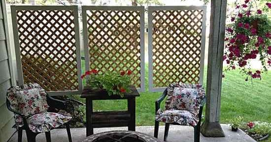 Make a patio privacy screen find my diy for Buy outdoor privacy screen
