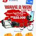 """Hadiah Bernilai RM225,000 Dengan Sertai Peraduan """"WAVE2WIN"""" Bersama SF COFFEE & MYDEBIT"""