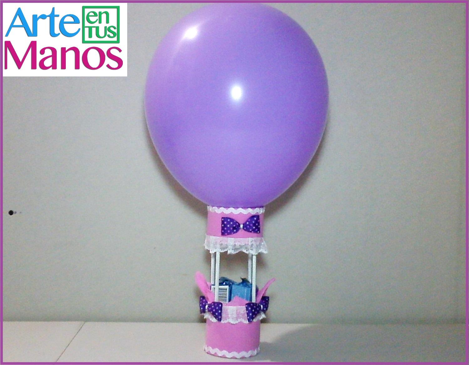 Arte en tus manos con lili y sam decora con globos y goma - Decora con globos ...