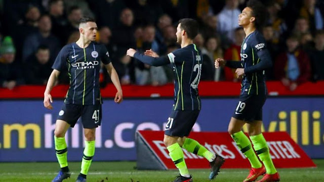 NewPort Country 1 - 4 Manchester City
