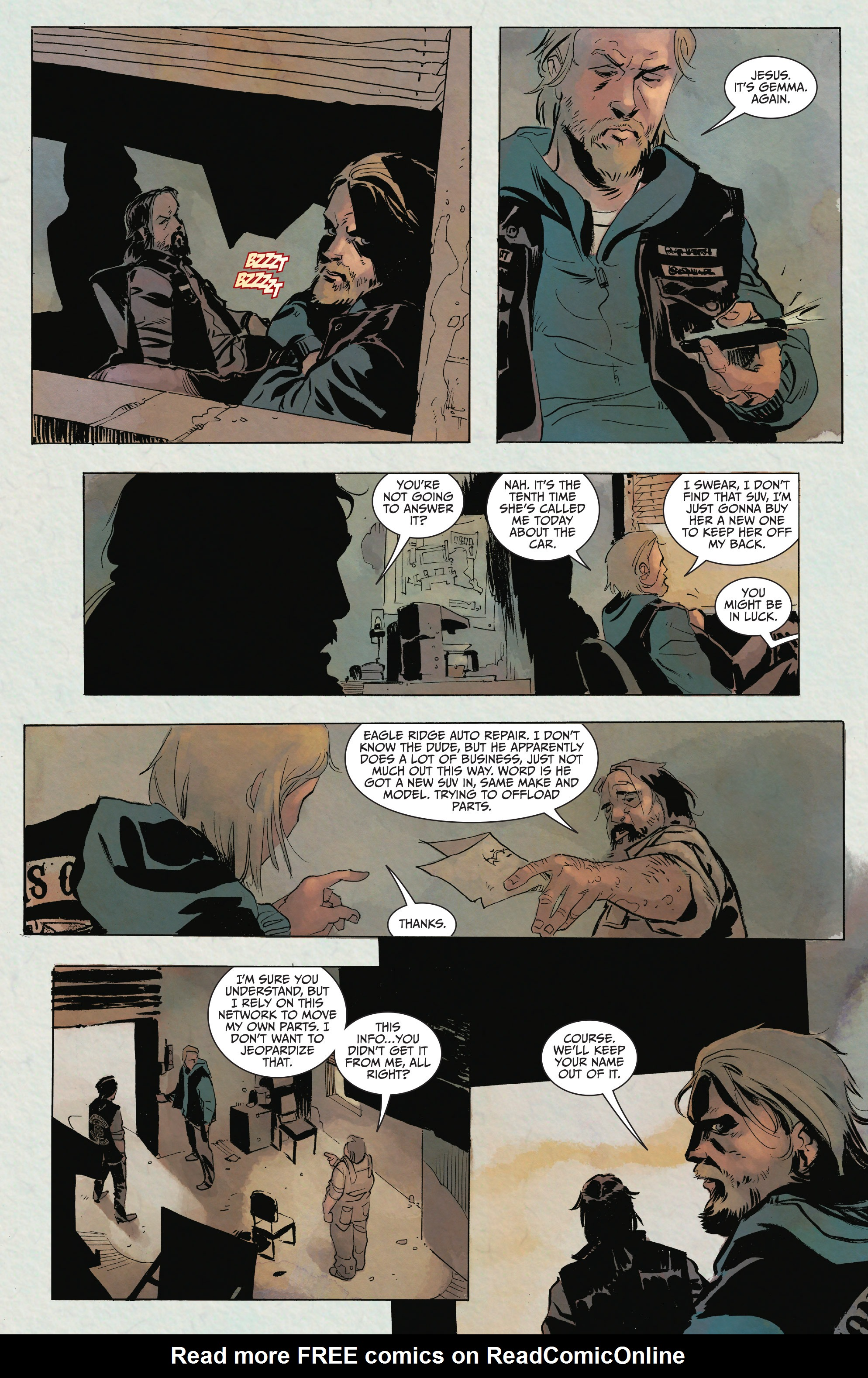 Read online Sons of Anarchy comic -  Issue #15 - 6