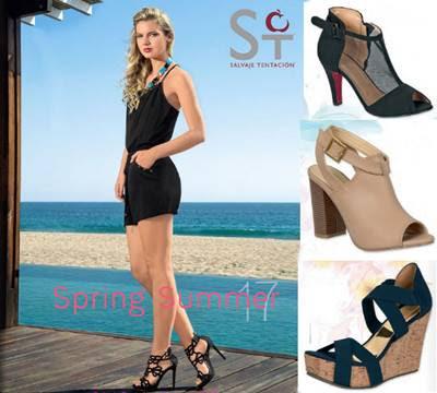 catalogo zapatos dama salvaje tentacion PV-17