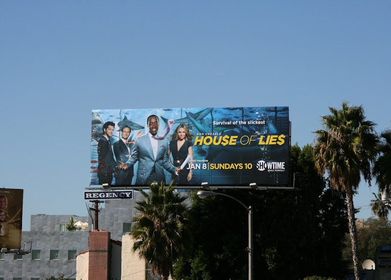 House of Lies Showtime billboard