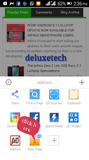 3 Steps To Save Pages On UC Browser (Screenshots) price in nigeria