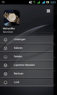 BBM Dark Grey versi 2.12.0.9 APK