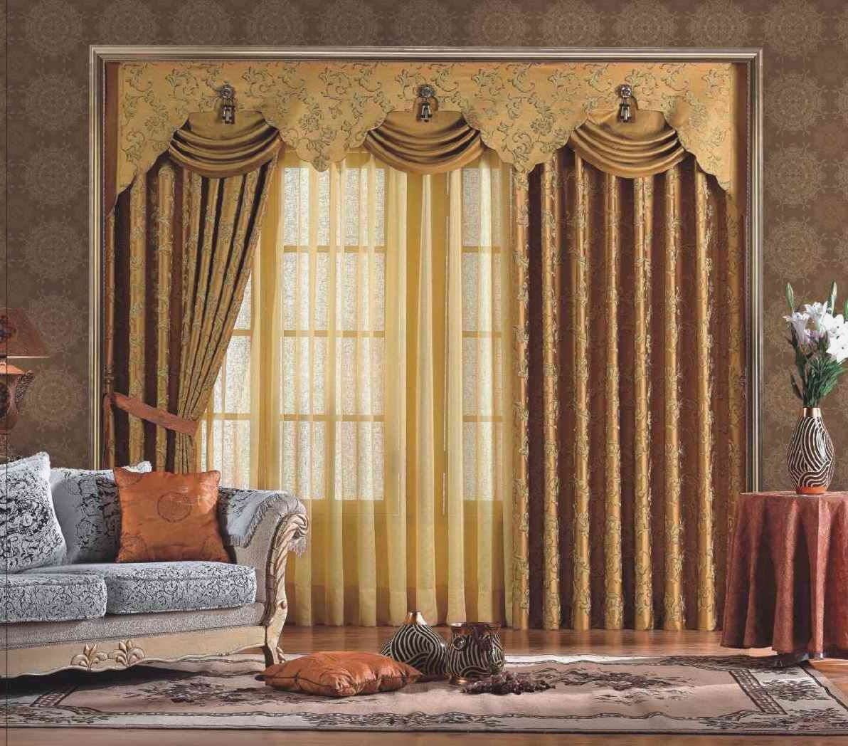 5 scallop pelmet langsir murah for Old world curtains and drapes