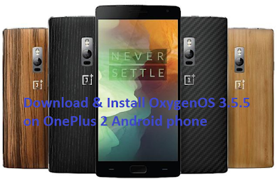 Download OxygenOS 3.5.5 OTA for OnePlus 2