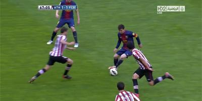 LFP-Week-33 : Athletic Bilbao 2 vs 2 Barcelona 27-04-2013