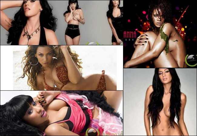 10 Penyanyi Wanita Terseksi dan Hot di Dunia Tahun 2013