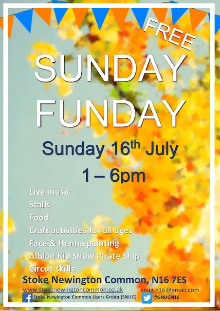 Common funday -sunday 16th July