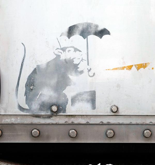 覆面アーティスト、バンクシーの作品が東京に現る?本物か偽物か?【a】