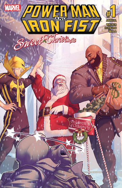 Power Man and Iron Fist Sweet Christmas Annual #1