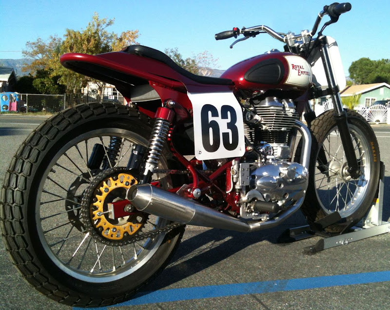 royal enfield flat tracker title=