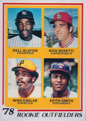 Rating The Rookies 1978 Topps Rookie Outfielders Dell
