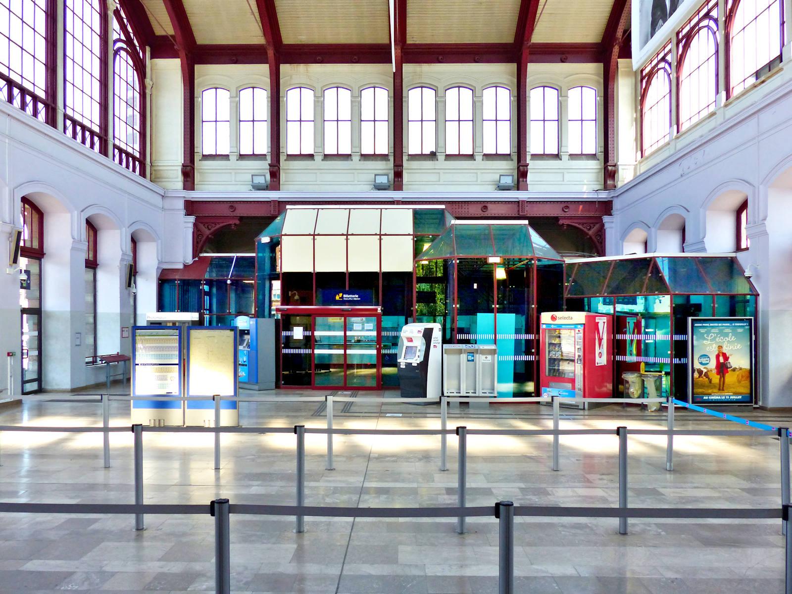 Gare de Tourcoing - Hall de la gare
