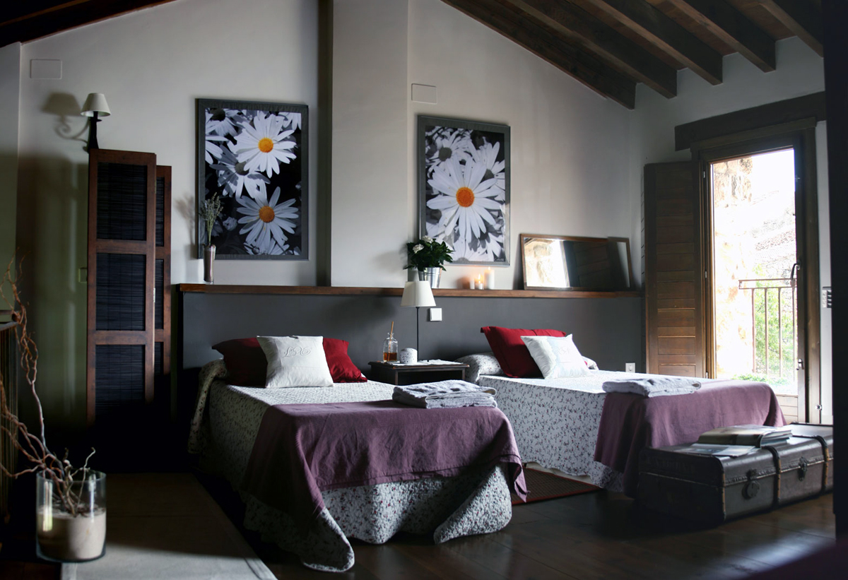 Casa rural con encanto en pedraza segovia for Decoracion de casas rurales con encanto