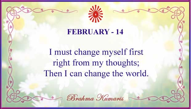 Thought For The Day February 14