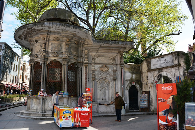 Food stands Istanbul